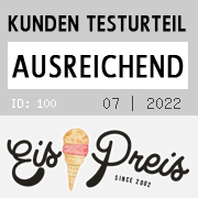 Gelateria am Brandenburger Tor‎, : 19.00 Punkte