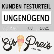 """Eiscafe """"Incognito"""" Inh. Petra Pap: 0.00 Punkte"""